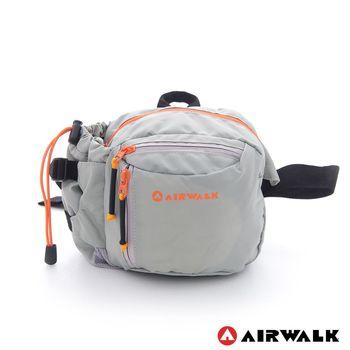 AIRWALK -海豚系 多口袋撞色隨身霹靂腰包