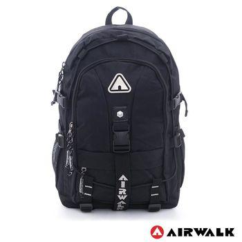 AIRWALK -安全守護 環線叉扣大容量登山筆電後背包