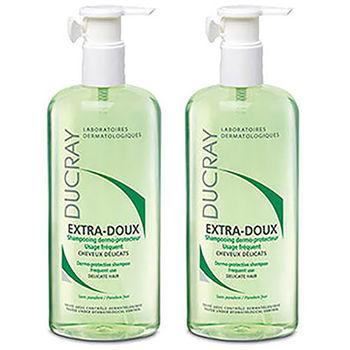 DUCRAY護蕾 溫和保濕洗髮精(400ml)雙件特惠組