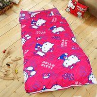 HO KANG 三麗鷗授權 冬夏鋪棉兩用兒童睡袋 加大款- 生活點滴