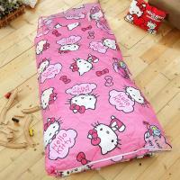 HO KANG 三麗鷗授權 冬夏鋪棉兩用兒童睡袋 加大款- 飄飄雲