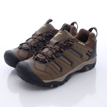 GOODYEAR-護趾寬楦越野登山鞋-MO63593咖(男款)