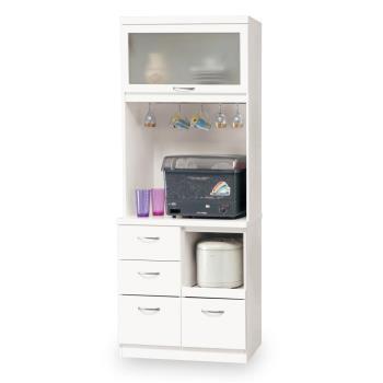 【時尚屋】[C7]雅典娜2.6尺收納櫃C7-934-1免組裝/免運費/收納櫃