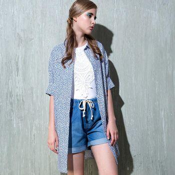 【Plombiere 女匠】滿版印花短袖洋裝(6113008-3501/3502)