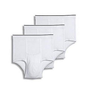 Jockey 2017男創新經典白色三角內著3件組(預購)