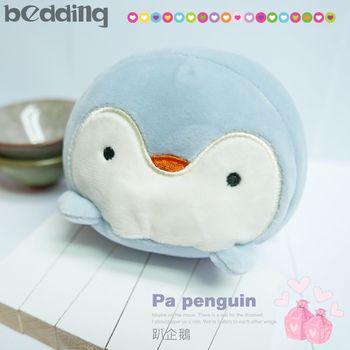 【BEDDING】滑鼠護腕墊 趴企鵝 可當居家擺設 寵物玩具 布偶