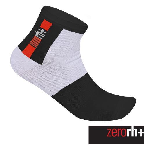 ZeroRH+ 義大利AGILITY低筒運動襪(5 cm) ●黑色、白色● ECX9139