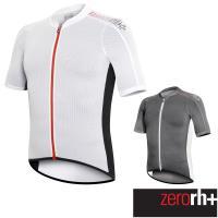 ZeroRH+ 義大利AIRX LITE涼感科技專業自行車衣(男) ●黑色、白色● ECU0354