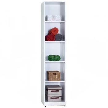 【H&D】凱倫1.3 尺白色開放隔板衣櫃