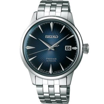 Seiko Presage 雞尾酒系列 中央動力儲存顯示機械腕錶 4R35-01T0A SRPB41J1