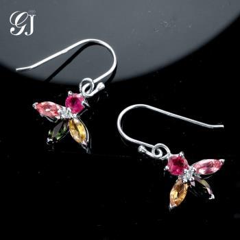 晉佳珠寶 Gemdealler Jewellery 天然彩色碧璽耳環 慈禧太后的最愛 珍貴寶石 高貴典雅 BE02