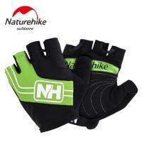 【Naturehike】特殊脫環加厚耐磨半指騎行套/運動手套(綠色)