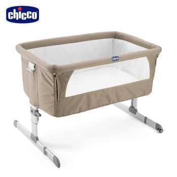 chicco-Next 2 Me多功能移動舒適嬰兒床-異國棕