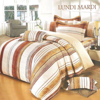 R.Q.POLO 日居的禮物系列 掠影 純棉涼被床包四件組 (雙人標準5尺)