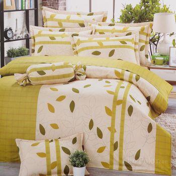 R.Q.POLO 日居的禮物系列 沁田 純棉涼被床包四件組 (雙人標準5尺)