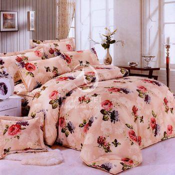 卡莎蘭 明媚花顏 雙人四件式二用被床包組
