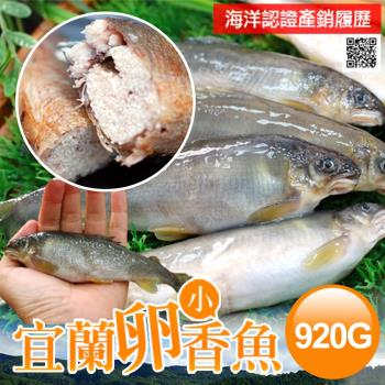 【築地一番鮮】宜蘭特選卵香魚5尾(200g/尾)