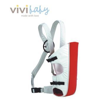 【ViVibaby】簡易背巾(紅白)