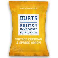 任-【BURTS】英國波滋手作洋芋片-香蔥起司(150g)