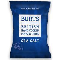 任-【BURTS】英國波滋手作洋芋片- 海鹽 150g