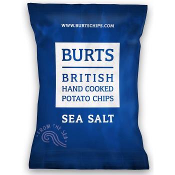 任-【BURTS】英國波滋手作洋芋片-經典海鹽(150g)
