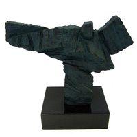~開運陶源~~ 歐風~青銅色太極砂岩雕塑 送大理石台座