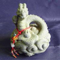 【開運陶源】秤心如意系列禮品--石塑造十二生肖.龍