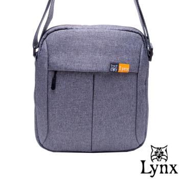 Lynx - 山貓質男防撥水休閒直式斜背包