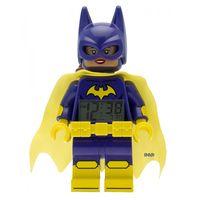 《 LEGO 樂高 》鬧鐘系列 - 樂高蝙蝠俠電影 蝙蝠女