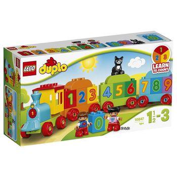 《 LEGO 樂高 》Duplo 得寶幼兒系列 - 數字火車 / LT-10847