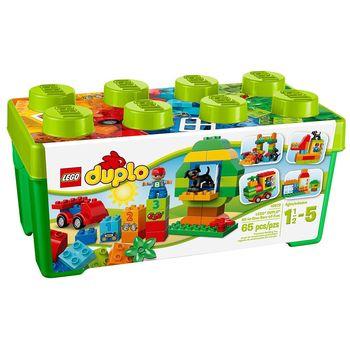 《 LEGO 樂高 》Duplo 得寶幼兒系列 - 多合一綠色樂趣箱 / LT-10572