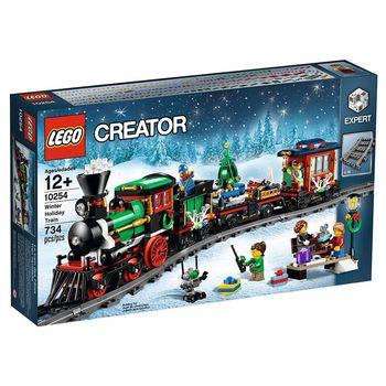 《 LEGO 樂高 》Creator 創意大師系列 - Winter Holiday Train 冬季假期火車 / LT-10254