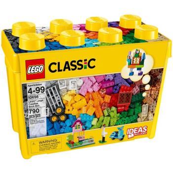 《 LEGO 樂高 》Classic 經典基本顆粒系列 - 大型創意拼砌盒 / LT-10698