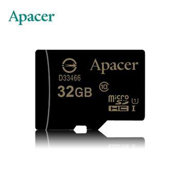 Apacer宇瞻 32GB MicroSDXC  UHS-I Class10 記憶卡