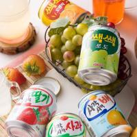 Lotte  樂天果汁238ml x12入-粒粒橘子汁/粒粒葡萄汁/蘋果汁/草莓汁/水梨汁