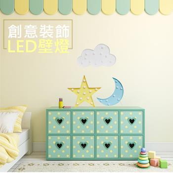 創意裝飾LED壁燈 造型情境LED燈 造型燈 情境燈 INS風 拍照道具 裝飾 擺飾 壁掛 小夜燈