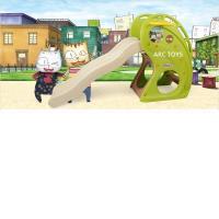 【HAENIM TOYS】海豚溜滑梯(綠色)
