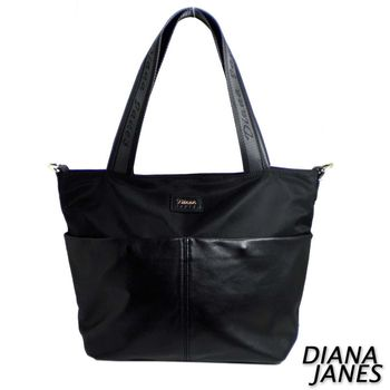 Diana Janes 尼龍帆布配梯型兩用包