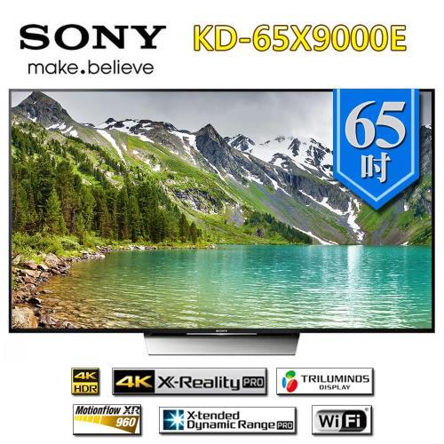 SONY 65型 4K 高畫質液晶電視 KD-65X9000E