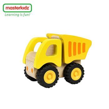 [Masterkidz]木製砂石車玩具/工地砂石車