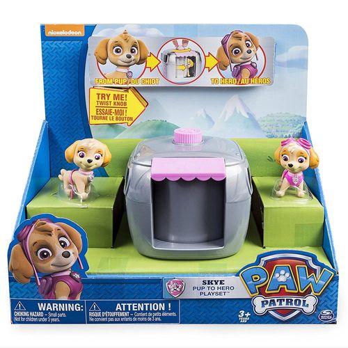 《 汪汪隊立大功 》兒童卡通玩具 - Paw Patrol 變裝小屋 ( 紫 )