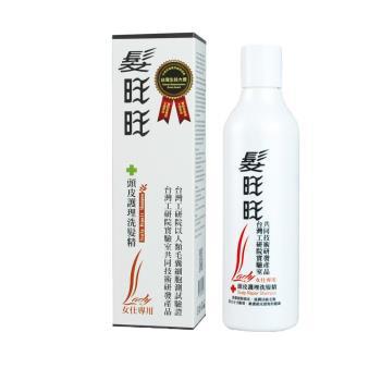《髮旺旺》女仕專用 天然草本 強效控油 抑制掉髮 頭皮調理洗髮精(250g)