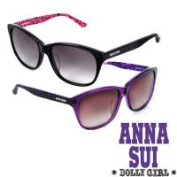 Anna Sui日本Dolly Girl系列洋娃娃元素款‧黑+桃/亮紫 (兩色)-DG800