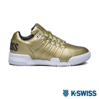 K-Swiss Gstaad S Big Logo休閒運動鞋-女-金