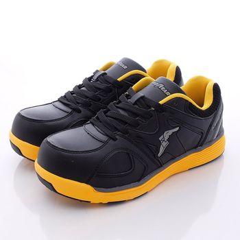 GOODYEAR工作鞋- 新一代寬楦鋼頭工作鞋 -黑黃MX63904(男款)