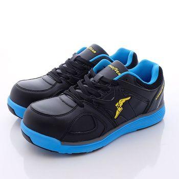 GOODYEAR工作鞋- 新一代寬楦鋼頭工作鞋 -黑藍MX63906(男款)