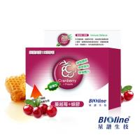 【BIOline星譜生技】緩釋型蔓越莓+綠蜂膠膠囊_(60顆/盒)
