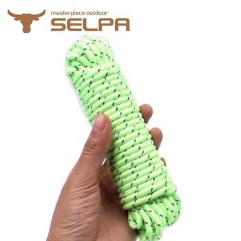 【韓國SELPA】夜光5mm反光營繩10米/露營/帳篷