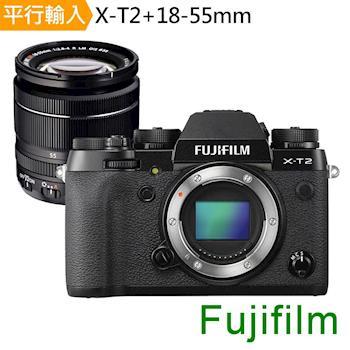 【SD64G+副電等】FUJIFILM X-T2+18-55mm 變焦鏡組 (中文平輸)