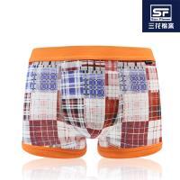 任-【Sun Flower三花】三花貼身平口褲.四角褲.男內褲_野餐趣
